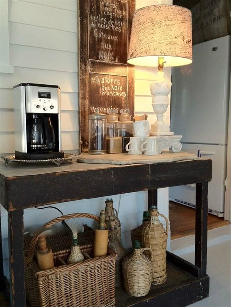 Home Bar Station by 40 Ideas To Create The Best Coffee Station Decoholic
