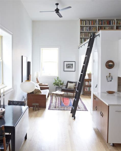 Small Scandinavian Apartment Open Airy Design by How To Make A Small Apartment Feel Nyc Apartments