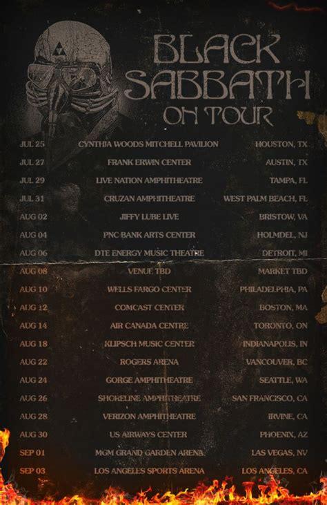 20134 Tour Dates  Black Sabbath Online