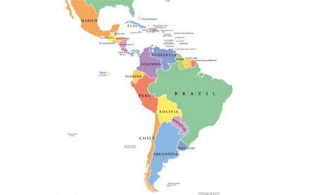 latin american countries latin america map latin