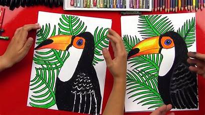 Toucan Draw Realistic Hub Projects Drawing Animals