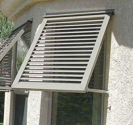 euro awning shutters hurricane shutters metal awnings  windows window awnings hurricane