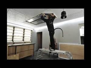 Trappe De Plafond : cr ation d 39 une trappe d 39 acc s dans un plafond tendu clipso ~ Premium-room.com Idées de Décoration