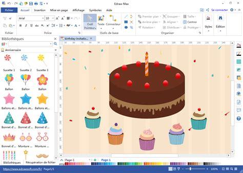 Modèles de carte d'invitation d'anniversaire gratuits à ...