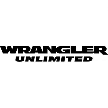 wrangler unlimited logo in eps format download free vector logos