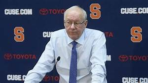 Jim Boeheim post-game press conference after Syracuse ...