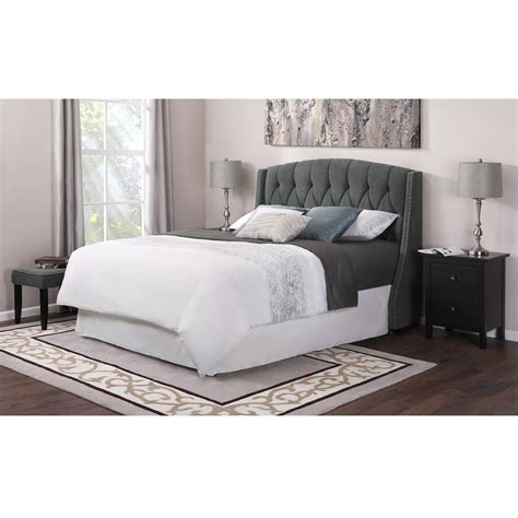 Bedroom Endearing Tufted King Headboard For King Bed Size