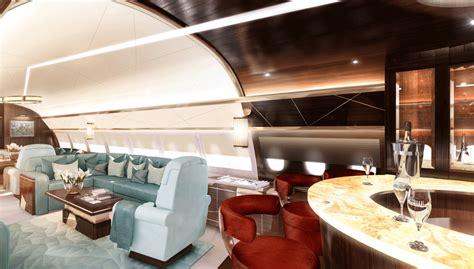 private luxury jets  custom  interiors