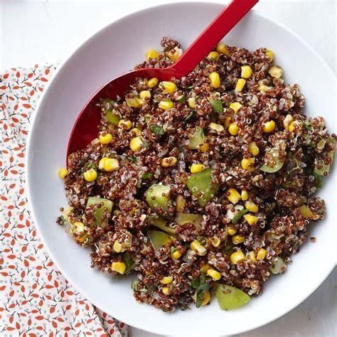 cuisine quinoa spicy tomatillo quinoa recipe eatingwell
