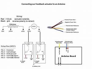 Linear Actuator Wiring Diagram