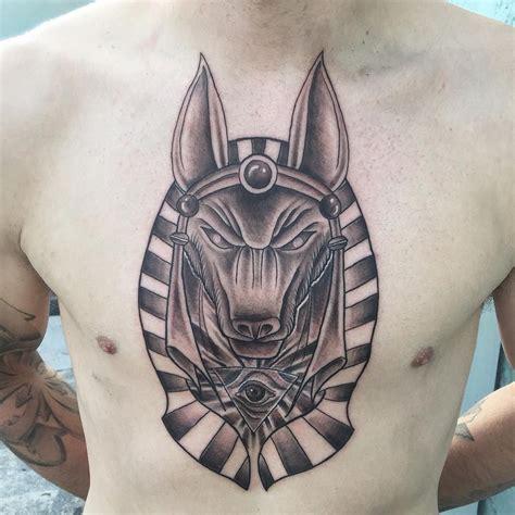 incredible anubis tattoo designs  egyptian symbol