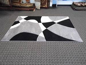 Black white and grey area rugs rugs ideas for Inspiration ideas for black and white rug