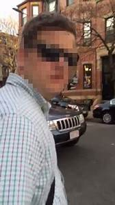 Boston moment woman confronts a man she says was 'filming ...
