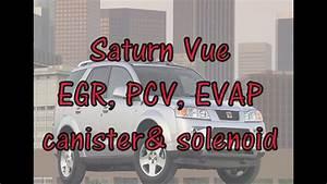 Saturn Vue Emissions  Evap Canister  Egr Valve  Pcv Explained