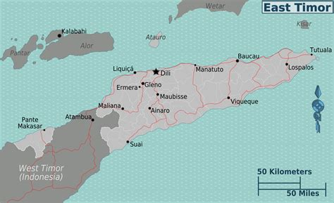 map  east timor overview map worldofmapsnet