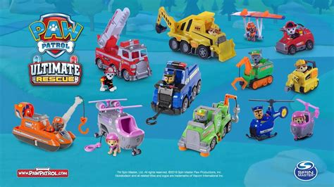 paw patrol ultimate vehicles uk kids youtube