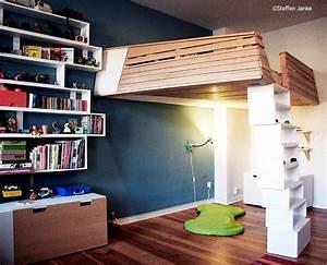 Coole Jugendzimmer Mit Hochbett : hochbett selber bauen kreativ ~ Bigdaddyawards.com Haus und Dekorationen