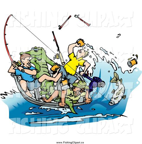 Boat On Lake Clipart by Lake Fishing Boat Clipart