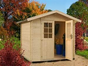 Kleines Gerätehaus Holz : blockhaus aus holz f r den kleinen garten 2 1 m x 2 0 m ~ Michelbontemps.com Haus und Dekorationen