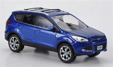ford escape kuga ii blue  greenlight diecast model