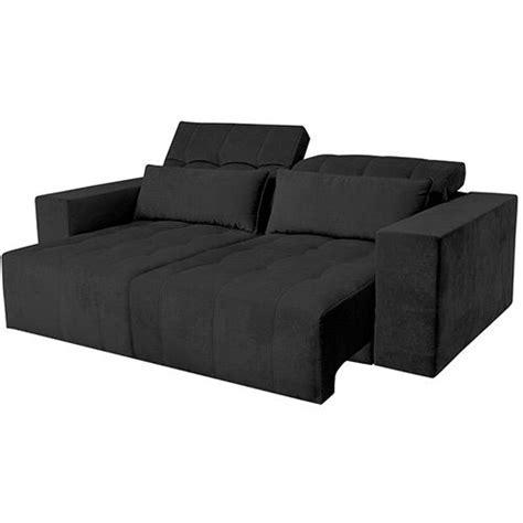 sofá retrátil 3 lugares suede verona somopar 25 melhores ideias de sof 225 retr 225 til 2 lugares no