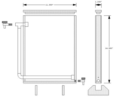Small Circuit Board Etching Tank For Large Boards