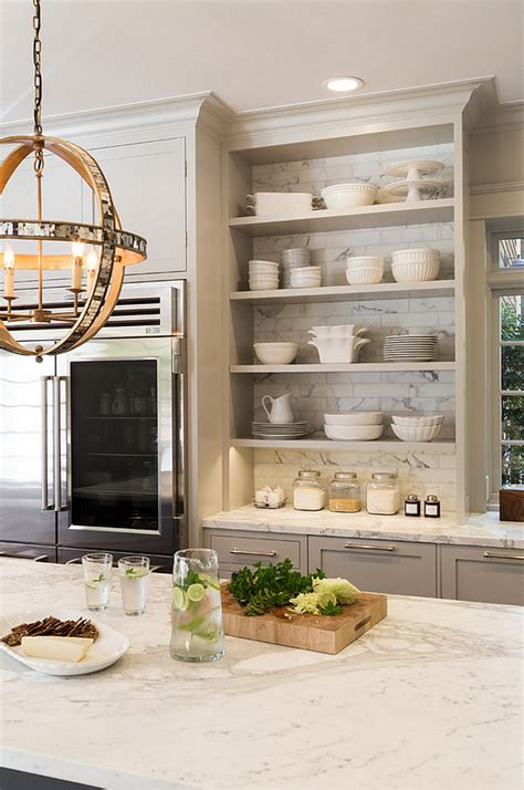 kitchen bookshelf ideas the ultimate gray kitchen design ideas home bunch interior design ideas