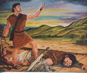 David And Goliath 2 by Patrick Desenclos