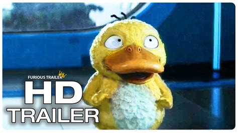 Pokemon Detective Pikachu Psyduck Trailer (new 2019) Ryan