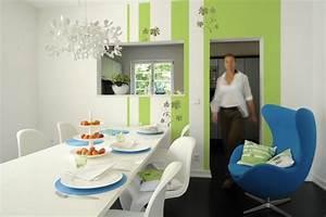 Streifen An Die Wand Malen Beispiele : wandgestaltung farbe ideen ~ Markanthonyermac.com Haus und Dekorationen