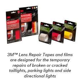 Amazon.com: 3M Red Lens Repair Tape, 03441, 1.875 in x 60
