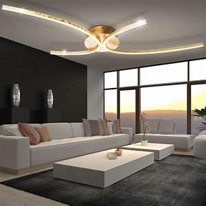 Lampenschirm Weiß Innen Gold : luxus led 30 watt deckenleuchten arbeitszimmer b rolampen gold silber 2100 lumen ebay ~ Bigdaddyawards.com Haus und Dekorationen