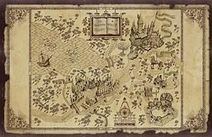 Nerdovore: Fantasy World Maps: Harry Potter