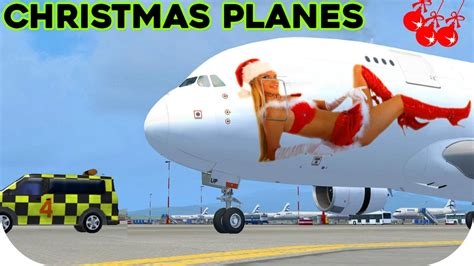 christmas airplanes fsx hd youtube