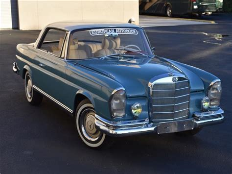 Looking for a classic mercedes benz w111? 1957 Mercedes Benz 250SE W111 Manual Coupe - BEAUTIFUL RESTORATION - SURVIVOR for sale ...