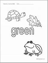 Green Coloring Pages Things Abcteach Sheets Printable Elementary Upper Getcolorings Print Getdrawings sketch template