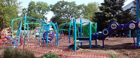new belmar playgrounds of twists and twirls spring up on