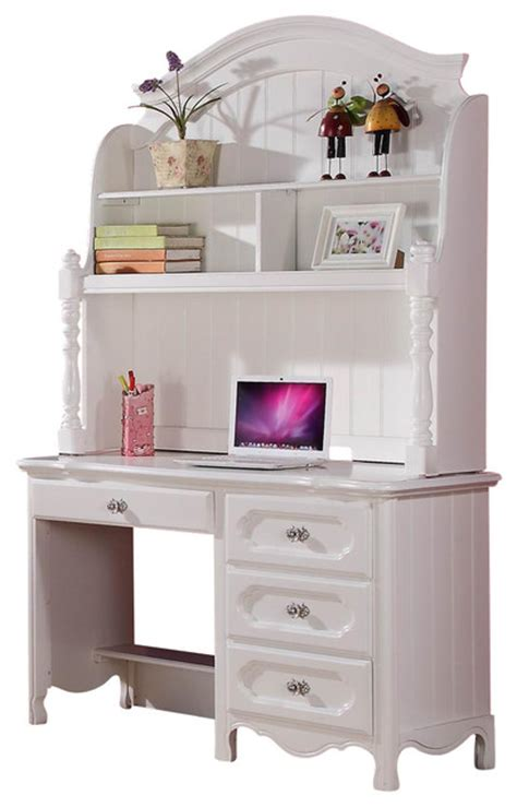 desk with hutch and drawers homelegance homelegance hayley 4 drawer kids 39 desk with