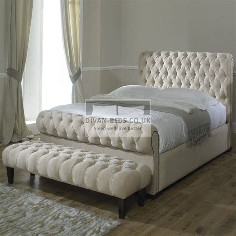 Upholstered Bed Frame by Rosaline Luxury Fabric Upholstered Bed Frame Guaranteed