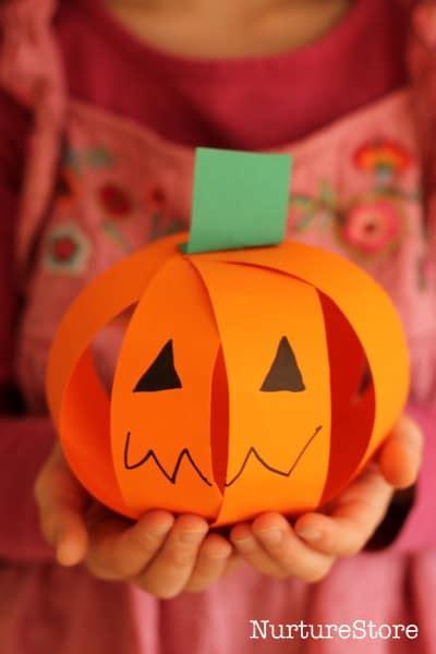 easy pumpkin craft for scissor skills nurturestore 421 | IMG 2359