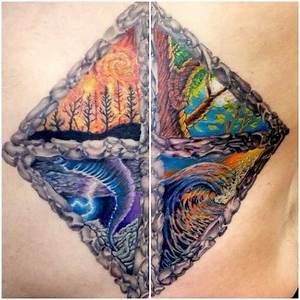 Tatouage 4 éléments : 4 elements tattoo by troy harper yelp ~ Nature-et-papiers.com Idées de Décoration