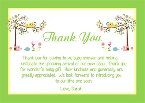 How To Write Thank You Cards For Baby Shower by Best 25 Thank You Card Wording Ideas On
