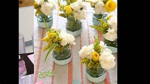 Baby shower flower arrangement ideas - YouTube