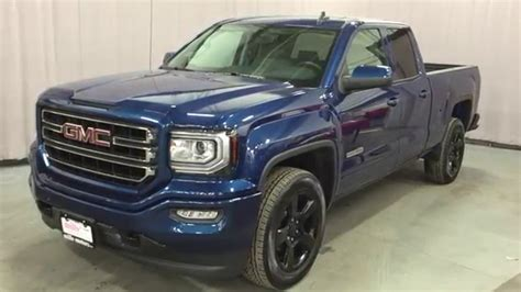 2016 Gmc Sierra 1500 Sle Double Cab 4wd 20in Blacked Out