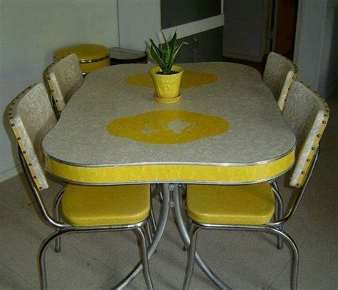 1950s Kitchen Table And Chairs   Marceladick.com