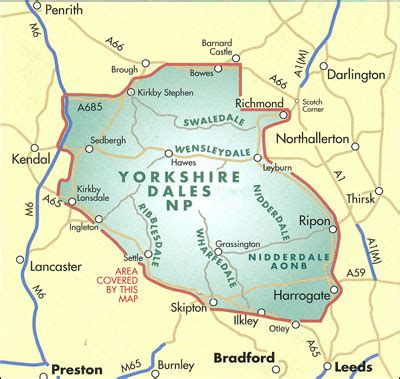 yorkshire dales harvey touring planning map stanfords