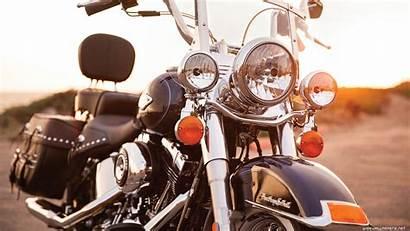 Harley Davidson Classic Heritage Softail Desktop Wallpapers