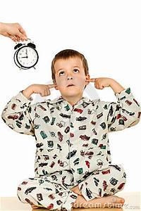 Bedtime For A Disobedient Kid Stock Photo - Image: 9666700