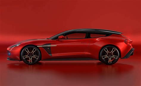 aston martin aston martin vanquish zagato shooting brake is one