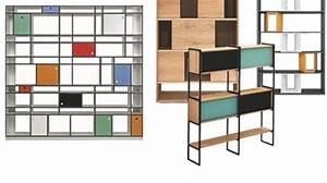 Bibliothèque Moderne Design : biblioth que les meilleurs meubles pour ranger les livres c t maison ~ Teatrodelosmanantiales.com Idées de Décoration